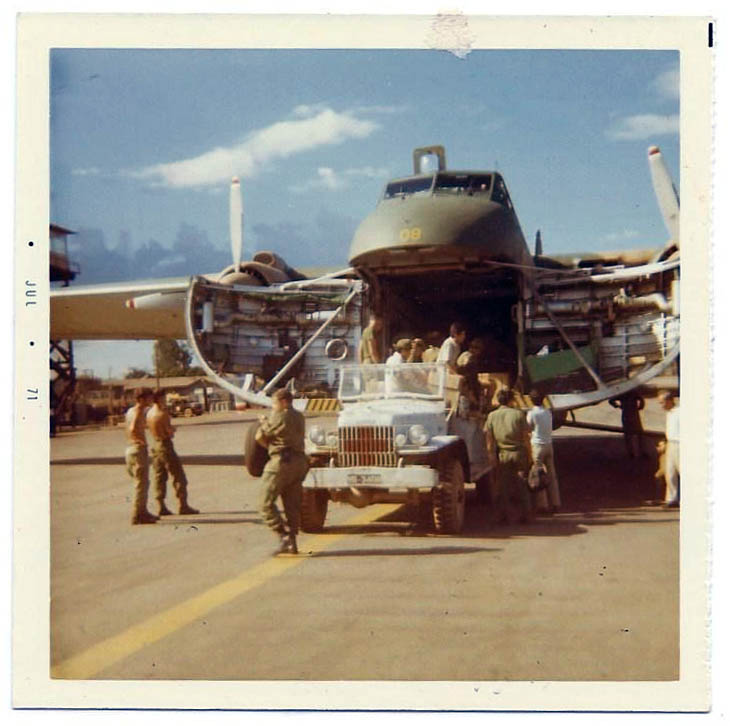 On The Resupply Run With The B170 In Vietnam 1971