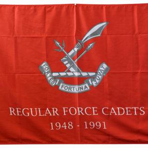 RF Cadet Flag (polybunting)